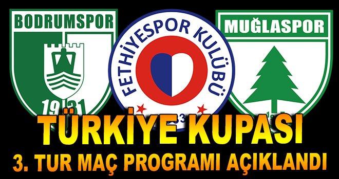 Ziraat Türkiye Kupası 3. Tur maç programı açıklandı